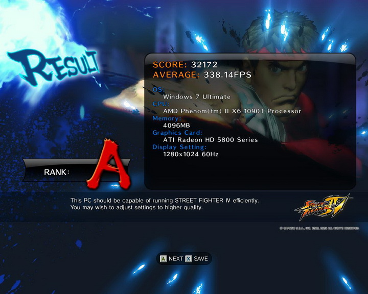 streetfighteriv benchmark 2010 10 01 11 39 26 85 Asus Crosshair IV Extreme  Review