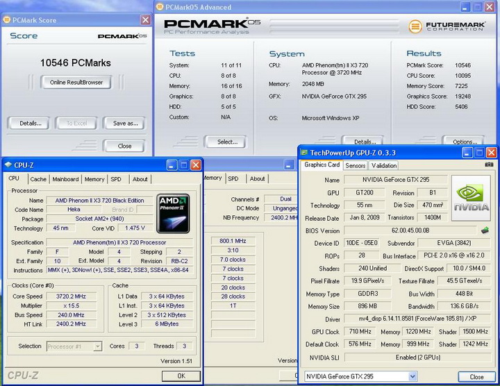 pcmark05 ASUS M4A79T Deluxe