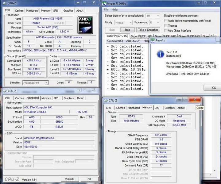 pi1m6c Asus M4A88TD M/USB3 Motherboard Review
