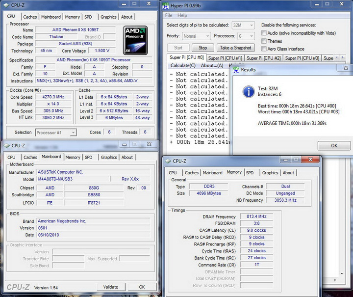 pi32m6c Asus M4A88TD M/USB3 Motherboard Review