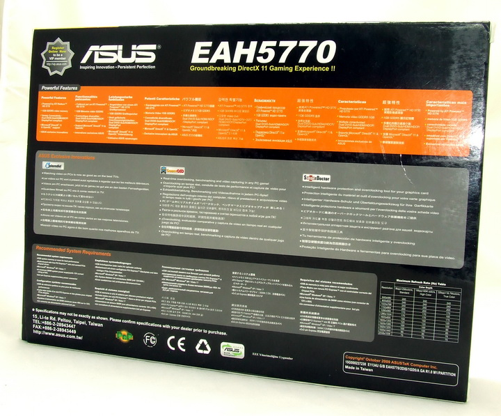 dscf2402 ASUS Radeon HD 5770 1GB Voltage Tweak Edition