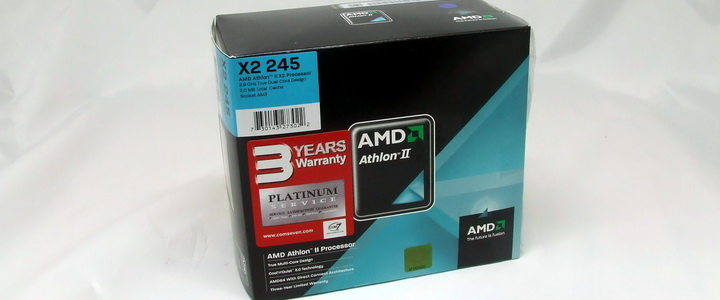 720 Athlon II X2 245 @4G