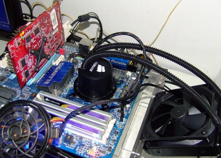 1235 Corsair  H50 Cooler