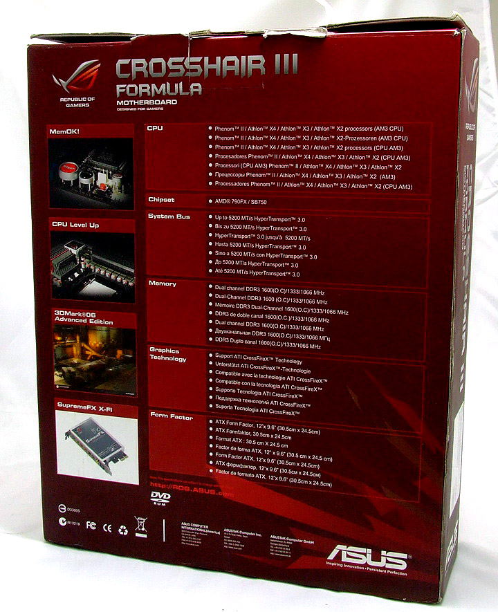r06 ASUS Crosshair III Formula Review