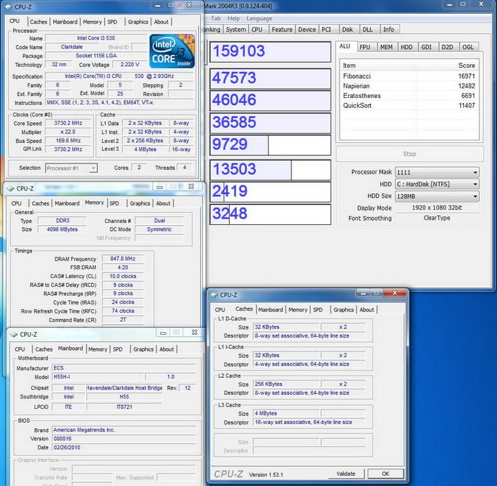 crytalmark ECS  H55H I Review