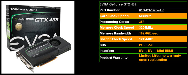 evga2 EVGA GTX465 1024MB GDDR5 Review