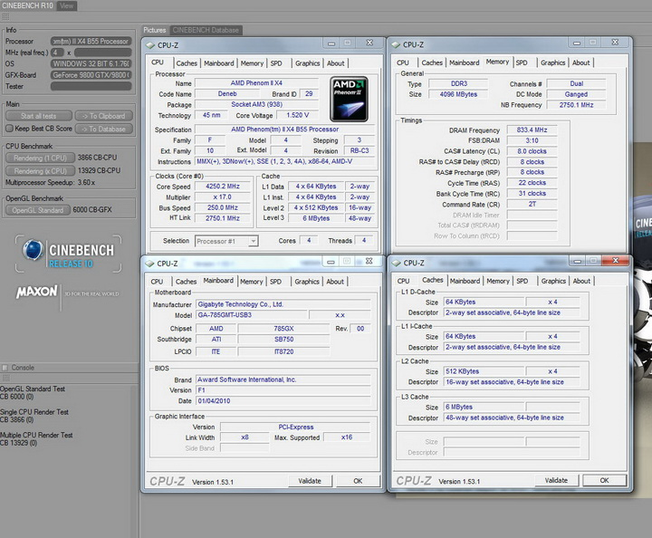r10 GIGABYTE 785GMT USB3 Review