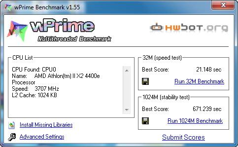 wprime Gigabyte GA MA790XT UD4P