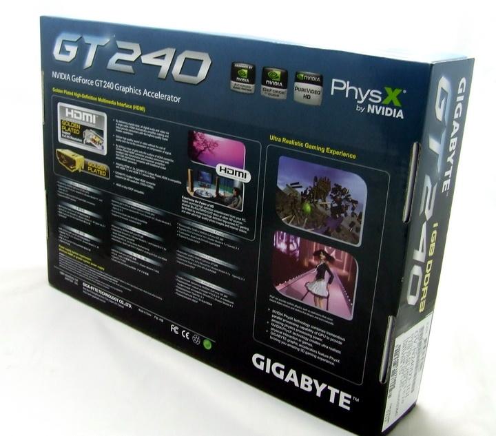 2 Gigabyte GT240 DDR3