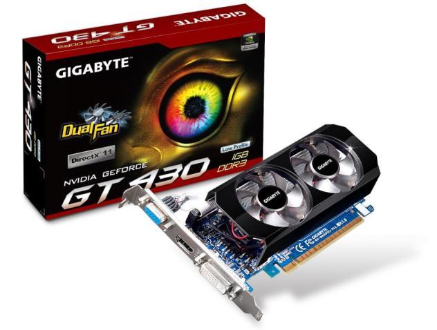 gv n430oc 1gl Gigabyte GT 430 Review