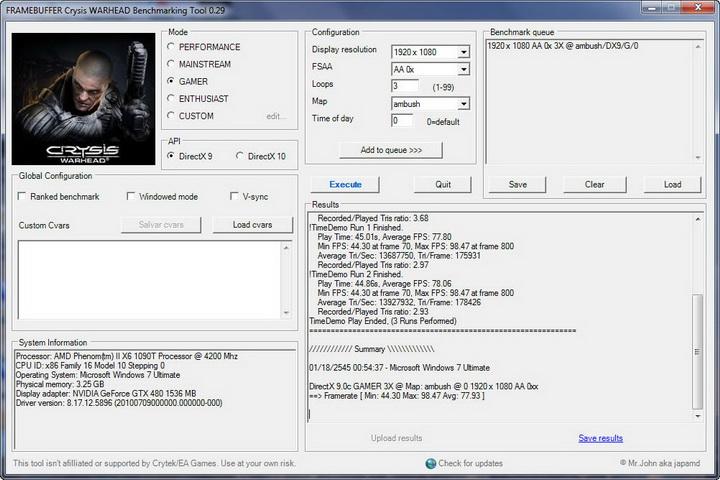fcrisis Gigabyte GTX480 1536MB  DDR5