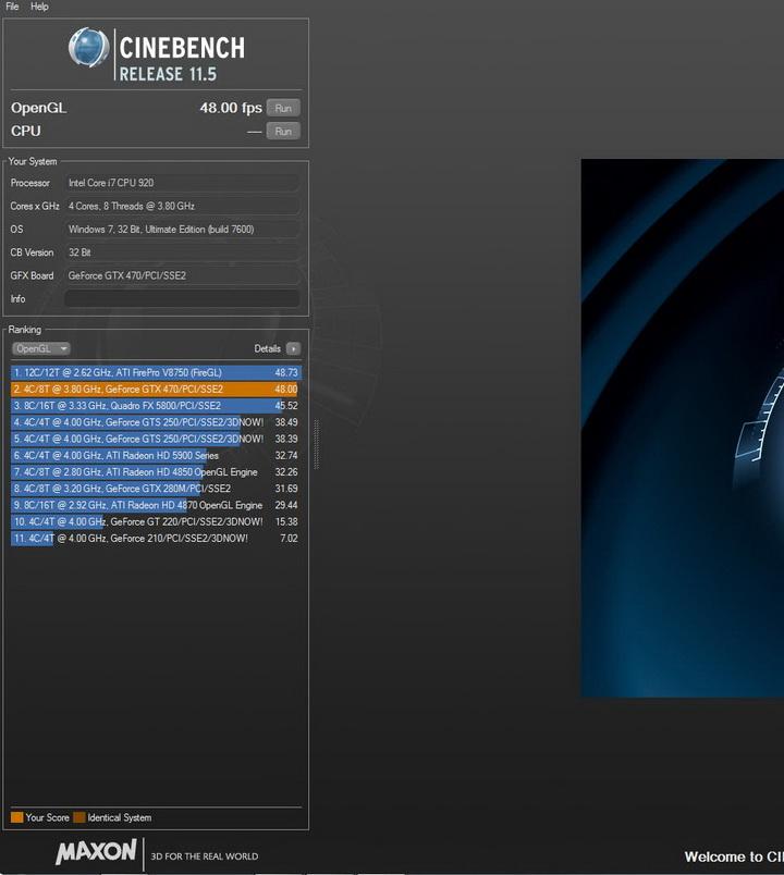 c115 GALAXY GTX 470 1280MB SLI Review