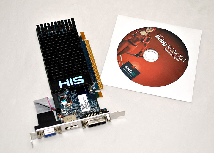 9 HIS Radeon HD 5450 Ram 1G Review