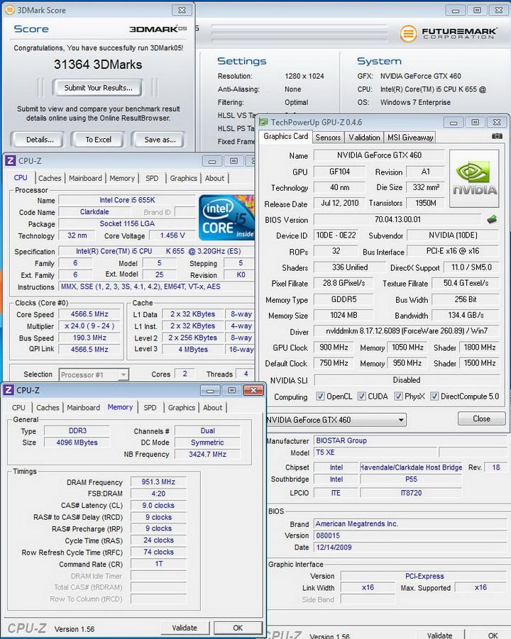051 INNO GTX 460 1GB DDR5 OVERCLOCK