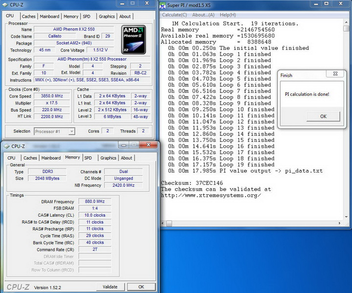pi3222 Kingmax DDR3 1G/1333