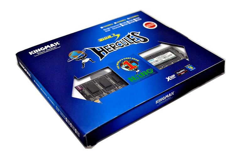 1 Kingmax Hercules DDR3  Bus 2200MHz