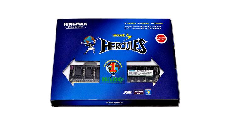2 Kingmax Hercules DDR3  Bus 2200MHz