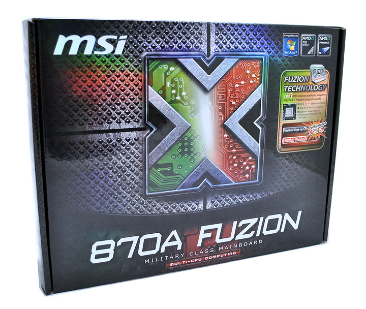 11 MSI 870A Fuzion  Review  Cool......
