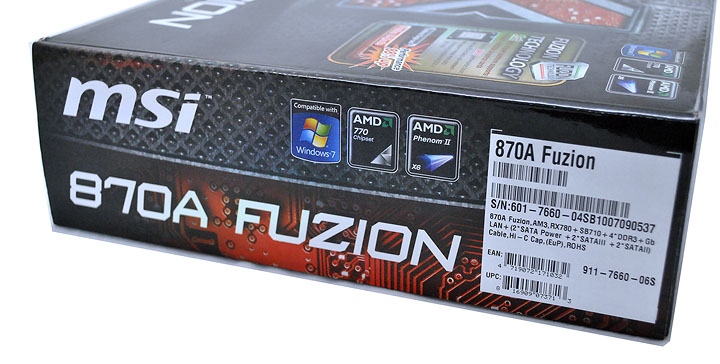 2 MSI 870A Fuzion  Review  Cool......