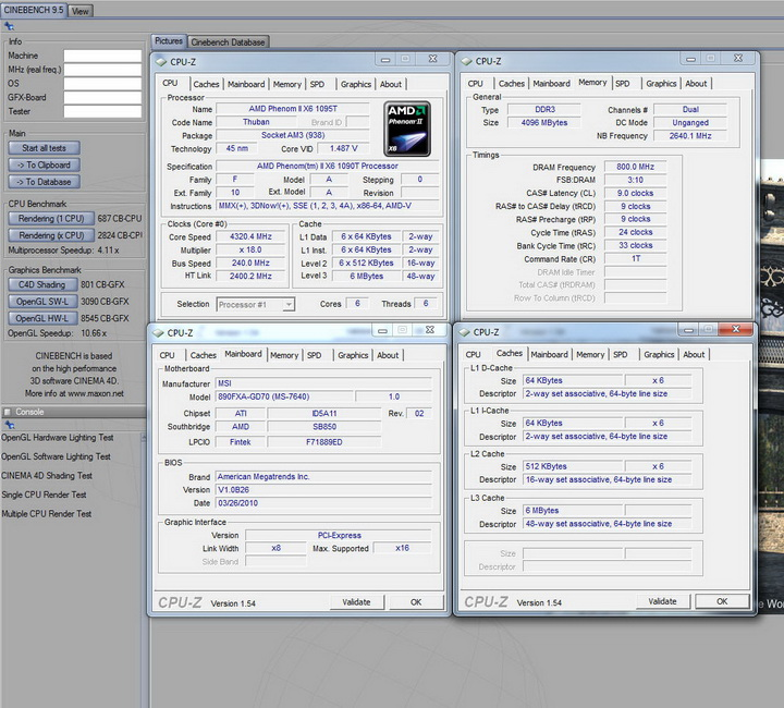 c9501 MSI 890FXA GD70 & AMD Phenom II X6 1090T