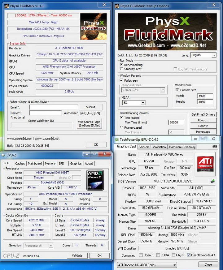 fot MSI 890FXA GD70 & AMD Phenom II X6 1090T