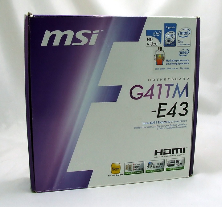 msi1 MSI G41TM E43 Review