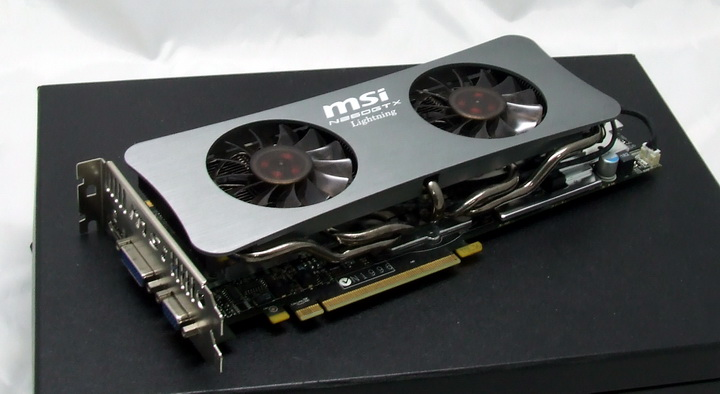 4 MSI GTX260 Lightning Black Edition
