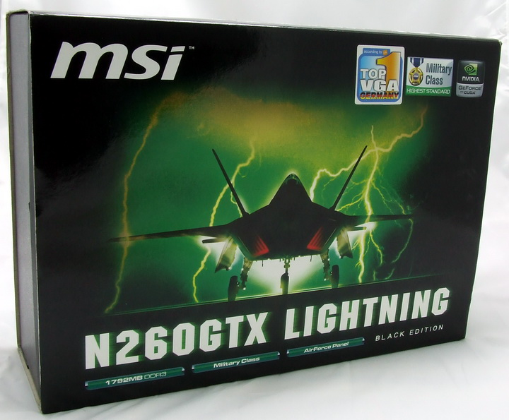 7 MSI GTX260 Lightning Black Edition