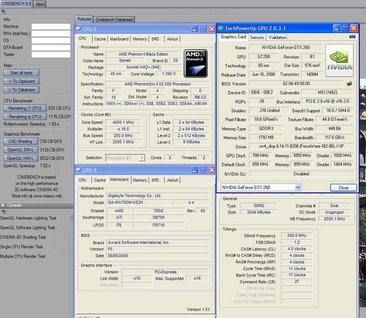 95 MSI GTX260 Lightning Black Edition
