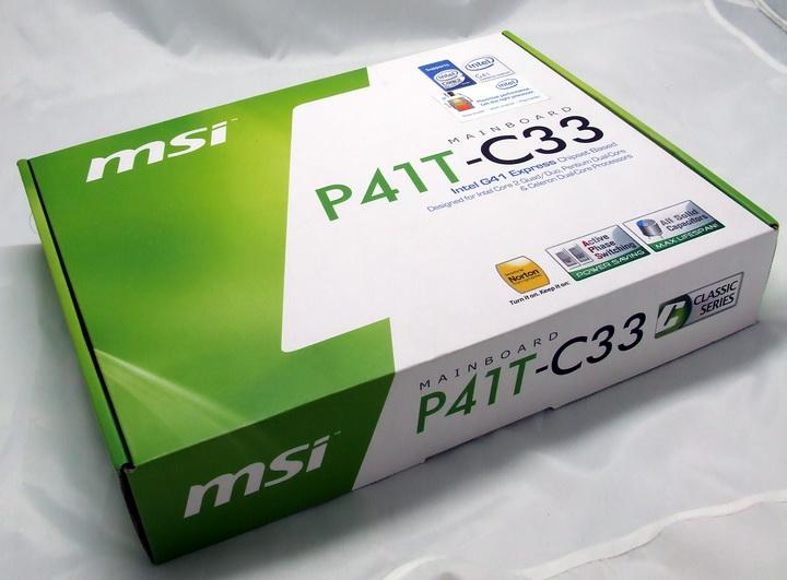 2 MSI P41T C33