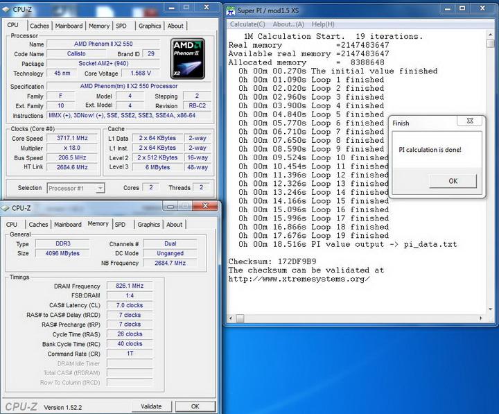 pi1m2 OCZ DDR3 PC3 10666 Platinum Low Voltage Dual Channel