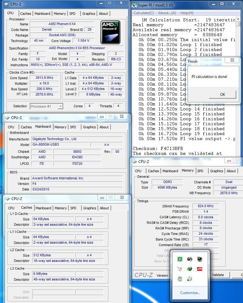 pi1m OCZ DDR3 PC3 12800 Intel® XMP