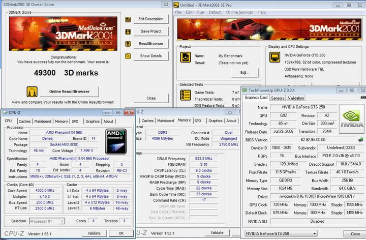 20011 Palit GTS250 1GB