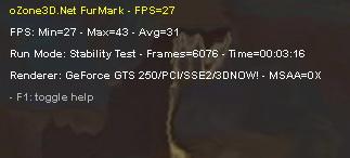 temp1 Palit GTS250 1GB
