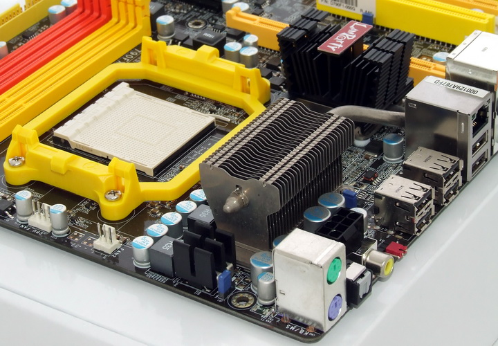 dscf8373 Phenom II955 VS  DFI DK 790 FXB M3H5