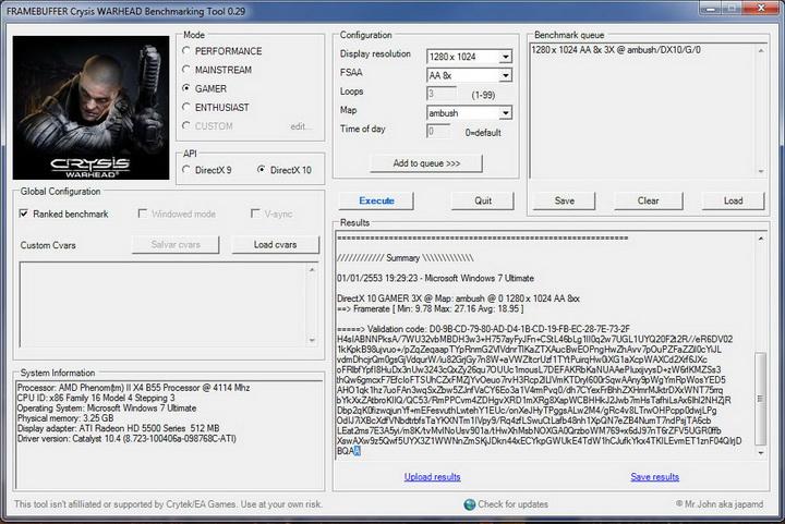 crysis Power color ATi HD5550