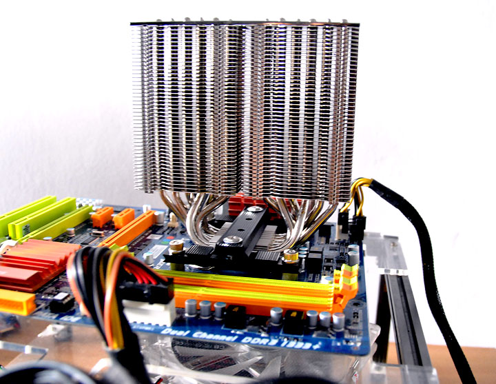s2 ProlimaTech ARMAGEDDON CPU Cooler Review
