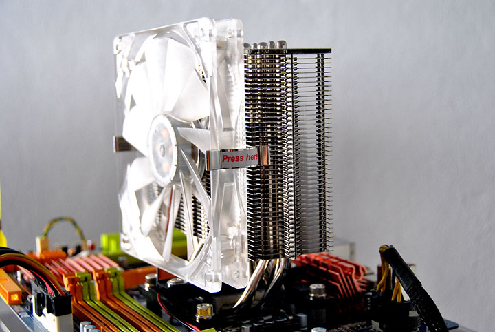 s4 ProlimaTech ARMAGEDDON CPU Cooler Review