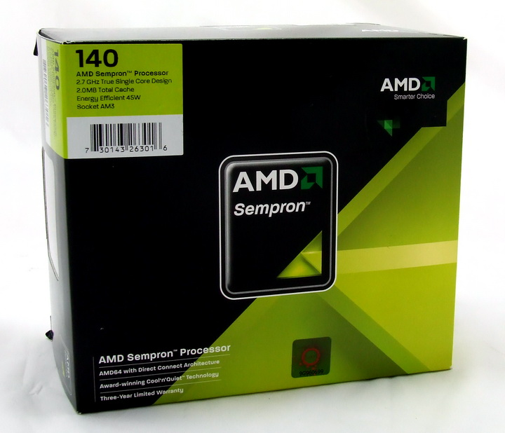 dscf8750 sempron 140 : New SingleCore 45nm AM3 CPU