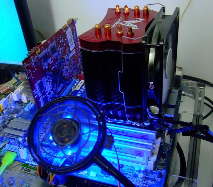 dscf03 TITAN FENRIR CPU Cooler Review