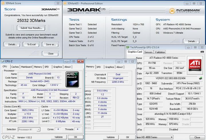 05 XFX HD 4890 @ AMD System