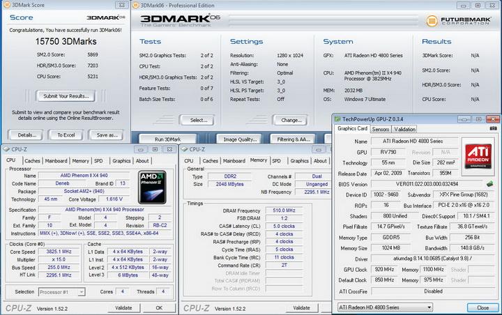 06 XFX HD 4890 @ AMD System