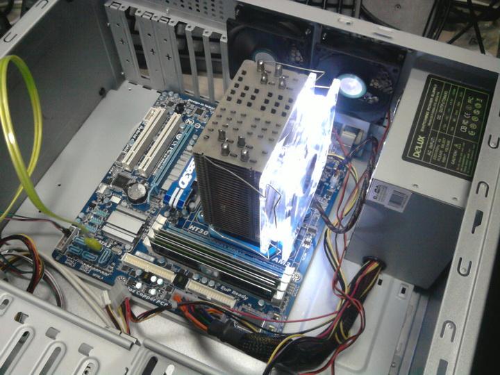 125 XIGMATEK Crystal Cooling System