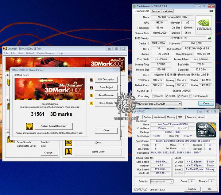 3d01 ALIENWARE M17X GTX 280M SLI Embed!!