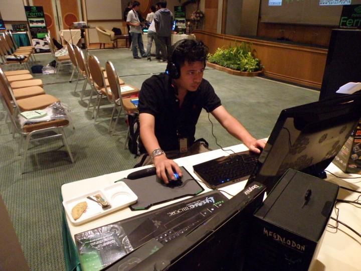 """6 720x540 ARC ร่วมกับ Nvidia จัดงานแถลงข่าวเปิดตัว """"FERMI"""""""