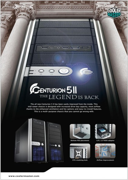 cm CENTURION 5 II  The LEGEND is BACK