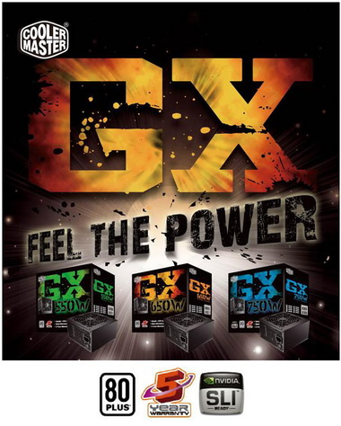 cooler master Cooler Master Power Supply GX Series