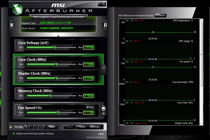 idle 720x481 ZALMAN VF3000F...Build for GTX470 !