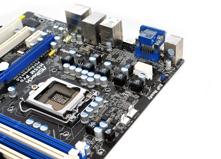 h55m pro 002 ASROCK H55M Pro Motherboard Review