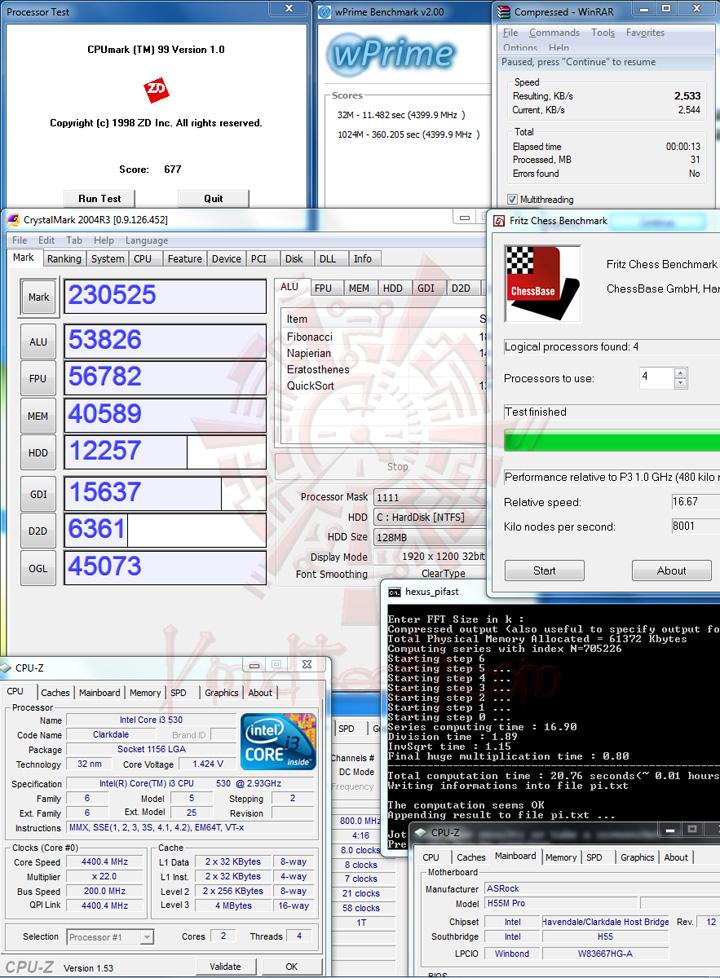 v ASROCK H55M Pro Motherboard Review